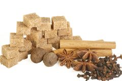 ζάχαρη καρυκευμάτων Στοκ εικόνα με δικαίωμα ελεύθερης χρήσης