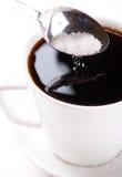 ζάχαρη καφέ στοκ φωτογραφία
