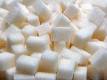 ζάχαρη κομματιών Στοκ Εικόνες