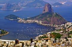 ζάχαρη του Ρίο φραντζολών de janeiro στοκ εικόνα