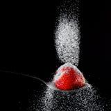 ζάχαρη φραουλών Στοκ εικόνα με δικαίωμα ελεύθερης χρήσης