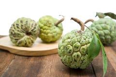 Ζάχαρη Apple (μήλο κρέμας, Annona, sweetsop) Στοκ Φωτογραφίες