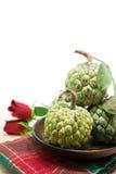 Ζάχαρη Apple (μήλο κρέμας, Annona, sweetsop) Στοκ εικόνες με δικαίωμα ελεύθερης χρήσης