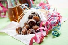 Ζάχαρη Donuts Στοκ Φωτογραφία