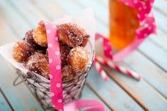 Ζάχαρη Donuts Στοκ εικόνες με δικαίωμα ελεύθερης χρήσης