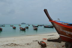 Ζάλη όμορφου Koh Lipe Ταϊλάνδη παραλιών ανατολής Στοκ εικόνα με δικαίωμα ελεύθερης χρήσης