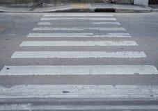 Ζέβρα διαγώνιος τρόπος Στοκ Φωτογραφίες