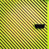 Ζέβρα-ριγωτός τοίχος Στοκ φωτογραφίες με δικαίωμα ελεύθερης χρήσης