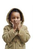 ζέσταμα παιδιών Στοκ Εικόνες