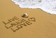 Ζήστε, γέλιο, αγάπη στοκ φωτογραφίες με δικαίωμα ελεύθερης χρήσης