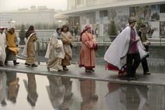 Ζήστε σκηνή nativity στην επιχειρησιακή πλήμνη, Μιλάνο, #05 Στοκ εικόνες με δικαίωμα ελεύθερης χρήσης