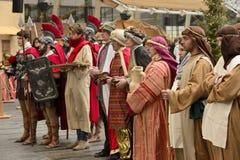 Ζήστε σκηνή nativity στην επιχειρησιακή πλήμνη, Μιλάνο, #10 Στοκ Φωτογραφίες