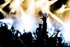 Ζήστε συναυλία Στοκ φωτογραφία με δικαίωμα ελεύθερης χρήσης