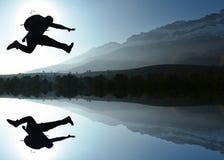 Ζήστε σύνολο της ζωής & του ενεργητικού και παρακινημένου ατόμου Στοκ Φωτογραφία