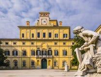 Ζαλίζοντας άποψη του δουκικού παλατιού κήπων ` s, Πάρμα, Ιταλία Στοκ Εικόνες