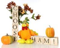 Ζαμπόν για την ημέρα των ευχαριστιών; Στοκ εικόνα με δικαίωμα ελεύθερης χρήσης
