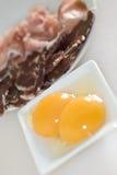 ζαμπόν Ιβήριος αυγών Στοκ εικόνες με δικαίωμα ελεύθερης χρήσης