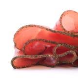ζαμπόν λωρίδων που κυλιέται Στοκ Φωτογραφίες