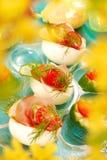 ζαμπόν Πάρμα αυγών Πάσχας Στοκ εικόνες με δικαίωμα ελεύθερης χρήσης