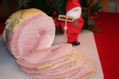 Ζαμπόν Χριστουγέννων Στοκ φωτογραφία με δικαίωμα ελεύθερης χρήσης