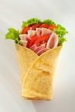 Ζαμπόν Burrito Στοκ Εικόνα