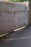 Ζαρωμένη πύλη Στοκ εικόνα με δικαίωμα ελεύθερης χρήσης