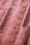 Ζαρωμένη στέγη σιδήρου Στοκ εικόνα με δικαίωμα ελεύθερης χρήσης