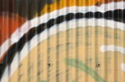 ζαρωμένος σίδηρος Στοκ εικόνα με δικαίωμα ελεύθερης χρήσης
