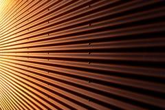 Ζαρωμένος σίδηρος Στοκ Φωτογραφίες