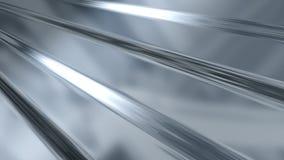 ζαρωμένο ελαφρύ μέταλλο π&om Στοκ Εικόνα