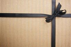 ζαρωμένο κιβώτιο δώρο Στοκ Εικόνα