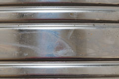 ζαρωμένο μέταλλο Στοκ εικόνα με δικαίωμα ελεύθερης χρήσης