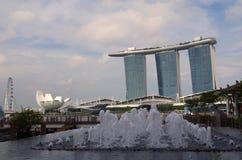 Ζαλίζοντας άποψη της Σιγκαπούρης Στοκ φωτογραφία με δικαίωμα ελεύθερης χρήσης
