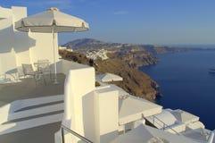Ζαλίζοντας άποψη Santorini Στοκ Εικόνες