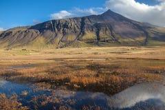 Ζαλίζοντας τοπίο της Ισλανδίας Στοκ φωτογραφία με δικαίωμα ελεύθερης χρήσης