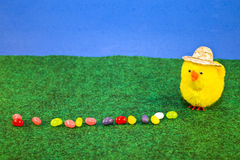 ζελατίνα αγροτών αυγών Στοκ φωτογραφία με δικαίωμα ελεύθερης χρήσης