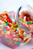 ζελατίνα βάζων χουφτών φα&sigma Στοκ εικόνες με δικαίωμα ελεύθερης χρήσης
