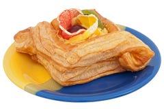 ζελατίνα καρπού κέικ στοκ φωτογραφία