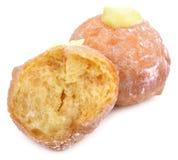 Ζελατίνα Donuts που απομονώνεται στο άσπρο υπόβαθρο στοκ φωτογραφίες με δικαίωμα ελεύθερης χρήσης