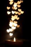 Ζεστασιά κεριών στοκ φωτογραφία με δικαίωμα ελεύθερης χρήσης