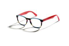 Ζευγάρι μοντέρνα πολύχρωμα eyeglasses Στοκ Εικόνα