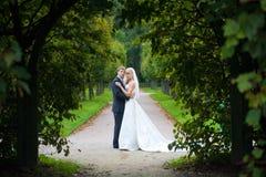 ζευγάρι παντρεμένο πρόσφατ στοκ εικόνα