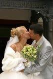 ζευγάρι παντρεμένο πρόσφα&tau Στοκ φωτογραφίες με δικαίωμα ελεύθερης χρήσης