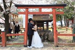 ζευγάρι παντρεμένο Στοκ εικόνα με δικαίωμα ελεύθερης χρήσης
