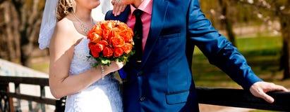 ζευγάρι παντρεμένο Στοκ Φωτογραφίες