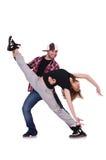 Ζευγάρι του χορού χορευτών Στοκ Εικόνα