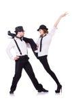 Ζευγάρι του χορού χορευτών Στοκ εικόνα με δικαίωμα ελεύθερης χρήσης