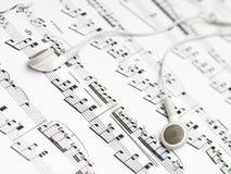 Ζευγάρι των ακουστικών Στοκ Φωτογραφία