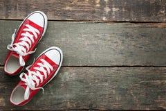 Ζευγάρι των πάνινων παπουτσιών στοκ φωτογραφία με δικαίωμα ελεύθερης χρήσης