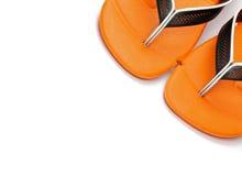 Ζευγάρι των σανδαλιών παραλιών Στοκ Εικόνα